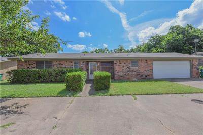 Stephenville Single Family Home For Sale: 1730 Kingland Street