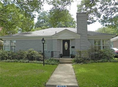 Single Family Home For Sale: 6120 Anita Street