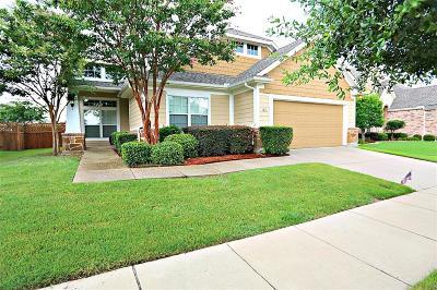 Frisco Single Family Home Active Option Contract: 3155 Vizcaya Lane