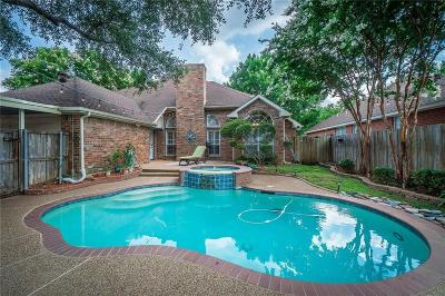 Allen Single Family Home Active Option Contract: 709 Featherbrook Court