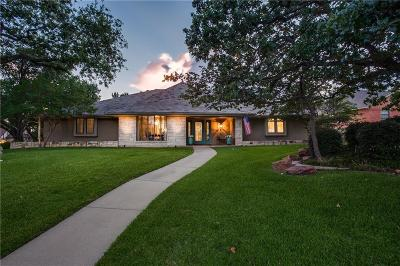 Colleyville Single Family Home Active Contingent: 3412 Chapelwood Court