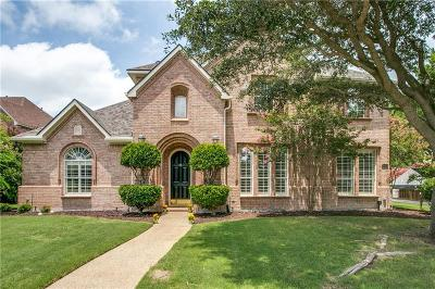 McKinney Single Family Home Active Contingent: 2412 Highgate Drive