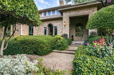Dallas TX Single Family Home For Sale: $1,020,000