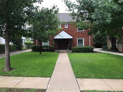 Fort Worth Single Family Home For Sale: 2560 Boyd Avenue