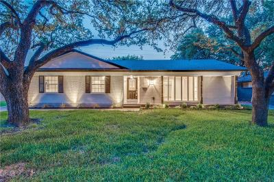 Dallas Single Family Home For Sale: 10443 Cromwell Drive