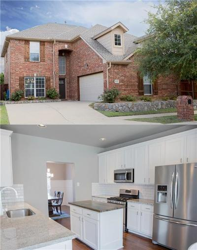 McKinney Single Family Home Active Contingent: 8117 Elk Mountain Trail