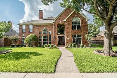 Plano Single Family Home Active Contingent: 4529 Lancelot Drive