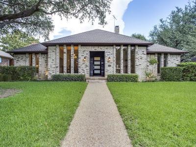 Dallas Single Family Home Active Option Contract: 9401 Moss Farm Lane