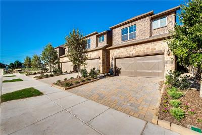 Plano Townhouse For Sale: 6316 Hermosa Drive