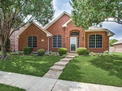 The Colony Single Family Home Active Option Contract: 5533 Glenview Lane