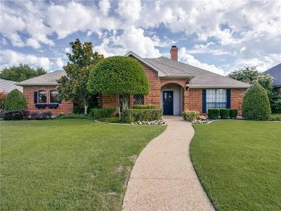 Plano Single Family Home Active Option Contract: 1521 Huron Trail