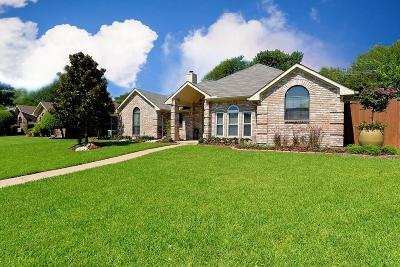 Coppell Single Family Home Active Option Contract: 205 Hill Drive
