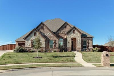 Keller Single Family Home Active Option Contract: 801 Rose Court