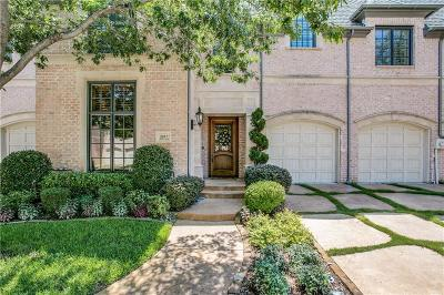 Plano Townhouse For Sale: 2017 Sinclair Lane