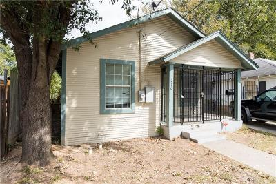 Dallas Single Family Home For Sale: 3710 Ruskin Street