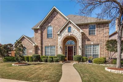 Frisco Single Family Home Active Contingent: 9937 Madrone Drive