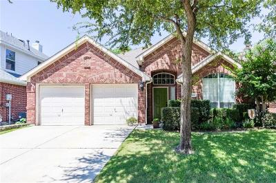 McKinney Single Family Home Active Option Contract: 504 Rock Ridge Way