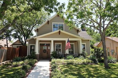 Grapevine Single Family Home For Sale: 622 Estill Street