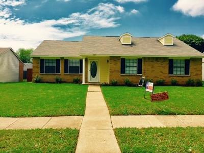 Allen Single Family Home For Sale: 534 Willow Oak Drive