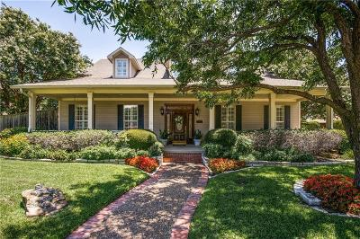 Coppell Single Family Home Active Contingent: 102 Dobecka Drive