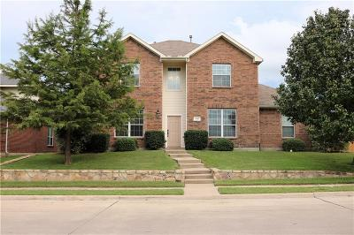 Rockwall Single Family Home For Sale: 1501 Walnut Ridge Drive