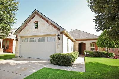 Frisco Single Family Home Active Option Contract: 550 Birch Valley Court