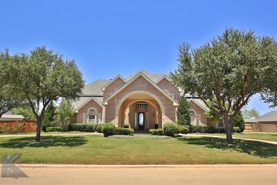 Abilene Single Family Home For Sale: 1210 S Saddle Lakes Drive