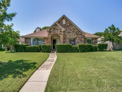 Allen Single Family Home Active Option Contract: 706 Cottonwood Drive