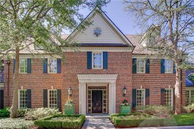 Dallas Single Family Home For Sale: 5138 Deloache Avenue