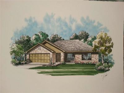 Kaufman Single Family Home Active Contingent: 1702 Melody Circle