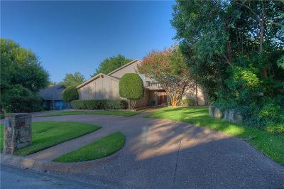 Benbrook Single Family Home For Sale: 6605 Hillside Drive