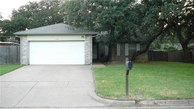 Arlington Single Family Home Active Option Contract: 6222 Springwood Drive