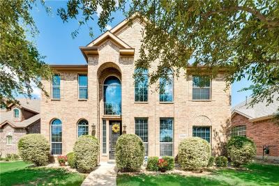 Frisco Single Family Home Active Option Contract: 12164 Gonzales Drive