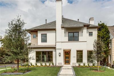University Park Single Family Home For Sale: 4338 Glenwick Lane