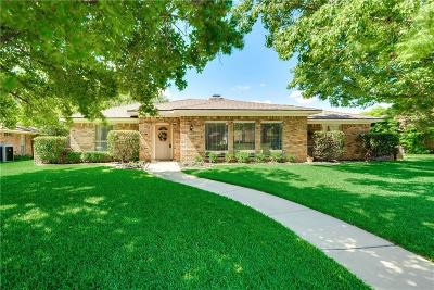 Plano Single Family Home Active Contingent: 2917 Mollimar Drive