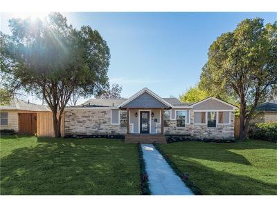 Dallas Single Family Home For Sale: 3762 Bolivar Drive
