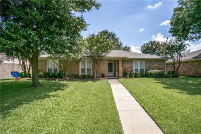 Plano Single Family Home Active Option Contract: 2508 Deep Valley Trail