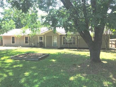 Wills Point Single Family Home For Sale: 601 N 4th Street