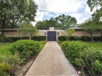 Single Family Home Active Kick Out: 6208 Shadycliff Drive