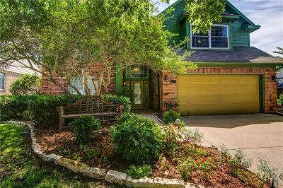 Grapevine Single Family Home Active Option Contract: 4109 Harvestwood Drive