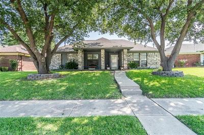 Garland Single Family Home Active Option Contract: 3114 Andrea Lane