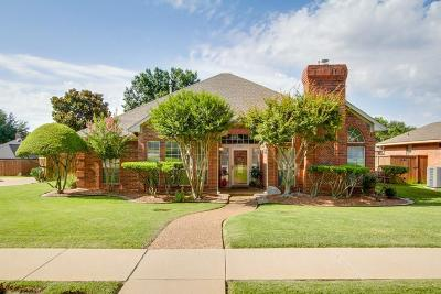 Carrollton Single Family Home Active Option Contract: 1201 Pawnee Trail