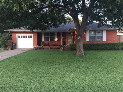 McKinney Single Family Home Active Option Contract: 1408 N Morris Street