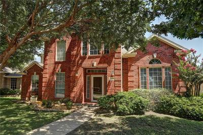 Allen Single Family Home Active Option Contract: 705 Hollow Ridge Drive