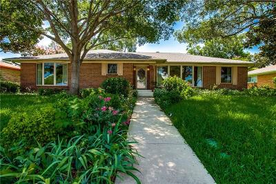Garland Single Family Home Active Option Contract: 1606 Iroquois Drive