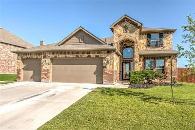 Fort Worth TX Single Family Home Active Contingent: $287,000