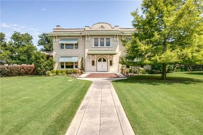 Dallas Single Family Home For Sale: 6220 Worth Street