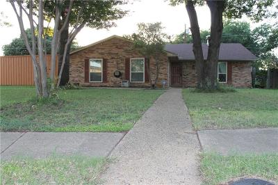 Plano Single Family Home Active Option Contract: 1401 Cotillion Drive