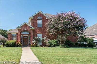 Grapevine Single Family Home Active Option Contract: 2720 Greenbrook Court