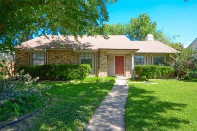 Allen Single Family Home Active Option Contract: 1313 Springview Drive